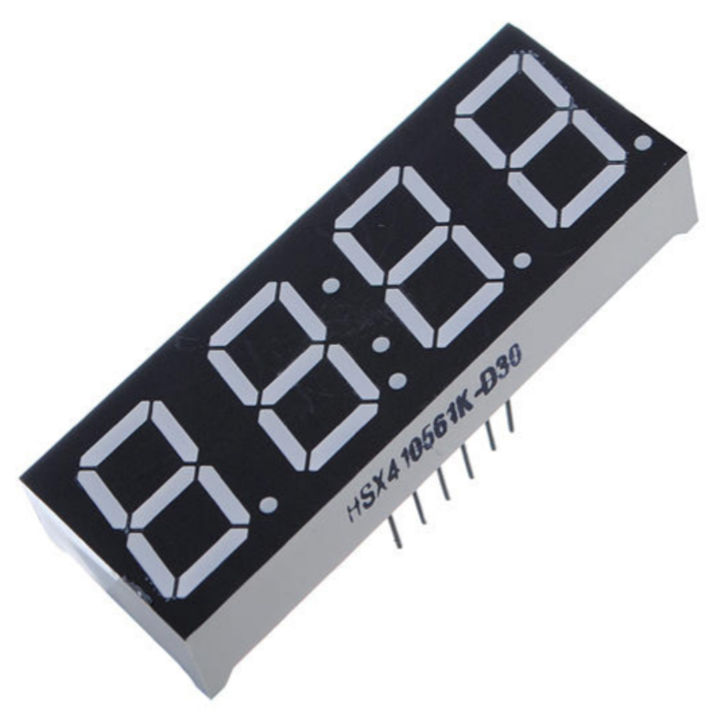 Seven segment LED Display - 4 Digit