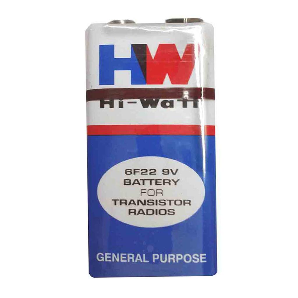 9V Battery - HIW